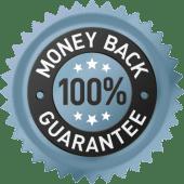 image of money back guarantee seal