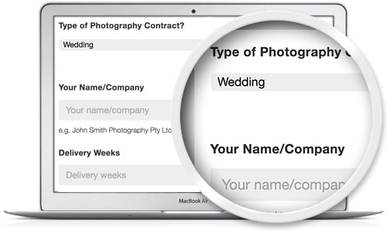 the Legal123 photography legal templates are quick and easy