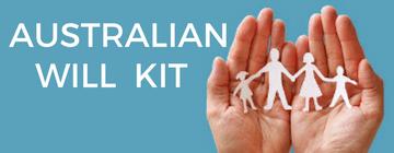 image of Australian will kit