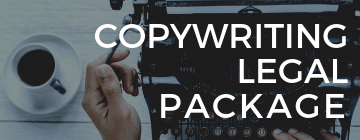 image of copywriting legal package